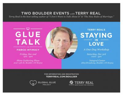 : Two Boulder Events with Terry Real